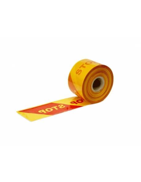 STOP barrier tape 100mmx500m D4