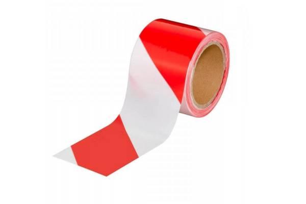 Warning barrier tape tesa® 58137 80mm x 100m