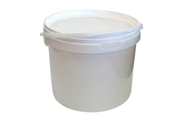 Hermetiškas kibiras plast. 10L (baltas)