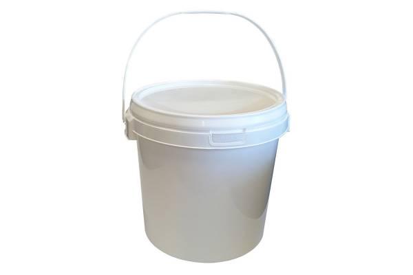 Hermetiškas kibiras plast. 20,8L (baltas)