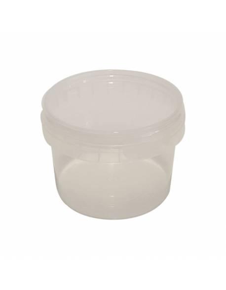 Hermetiškas plastikinis indelis 280ml. Ø93