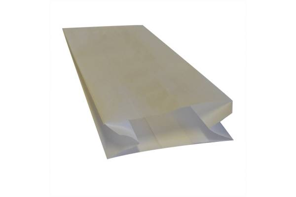 White paper bag 110x60x270mm 250pcs/pack