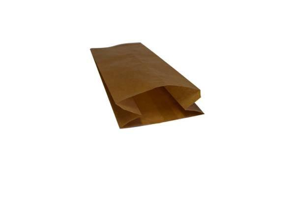 Brown paper bag 130x70x340mm 250pcs/pack