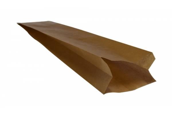 Brown paper bag 100x60x580mm 250 pcs/pack