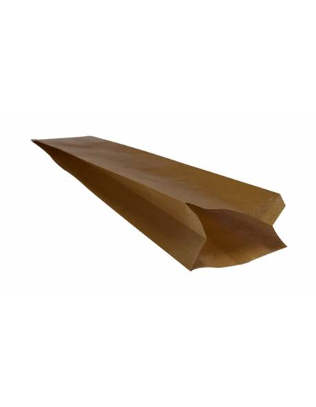 Brown paper bag 100x60x580mm 250 pcs/pack