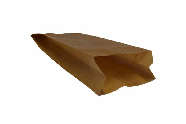 Brown paper bag 100x50x250mm 1000 pcs/pack