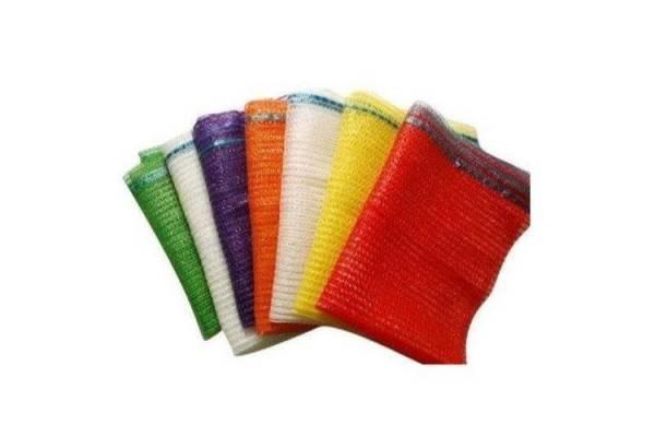 Tinkliniai maišai su raišteliais 40x60cm Raudona