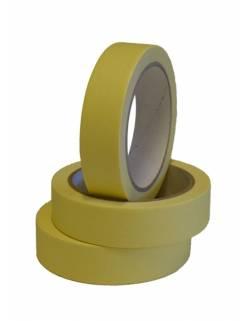 Masking tape 25mm x 40m yellow, 36 pcs/box