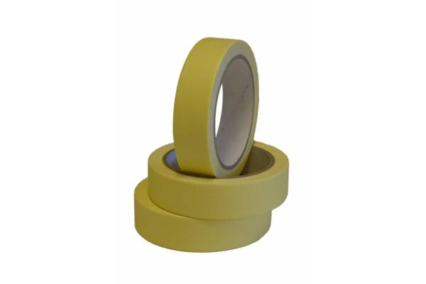 Masking tape 25mm x 40m yellow, 36 pcs/box