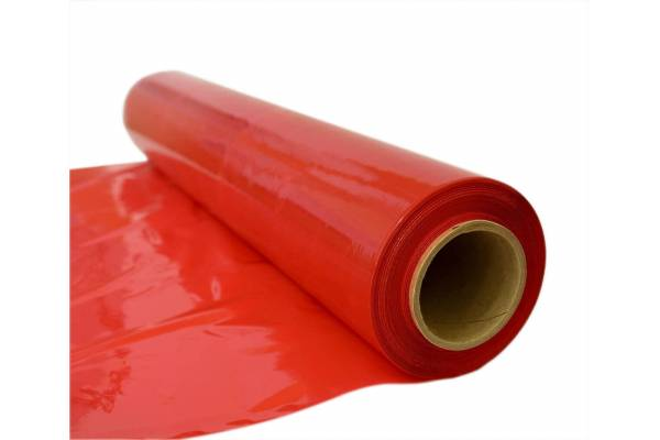 Packaging stretch film 500mmx200mx23my RED