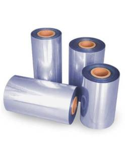 Thermo PVC shrink film 550mm/1100mm - 750m 15 my 2F7