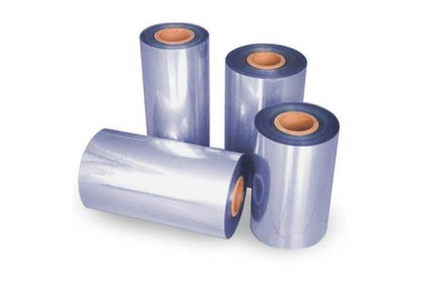 Thermo PVC shrink film 200mm/750m 15 my 2/F8