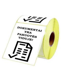 """Adhesive labels 98x150mm """"DOCUMENTS INSIDE"""""""