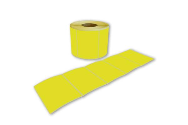 Adhesive colored labels 55.5x75mm 1000pcs./roll