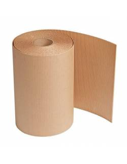 Double layer corrugated cardboard roll 1m x 90m (90m²)