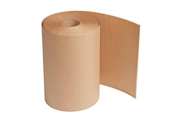 Double layer corrugated cardboard roll 1m x 20m (20m²)