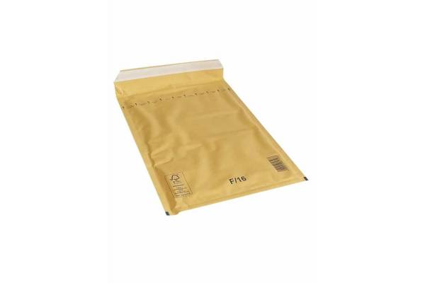 Envelopes with bubble padding 220x340mm 100pcs. F/16