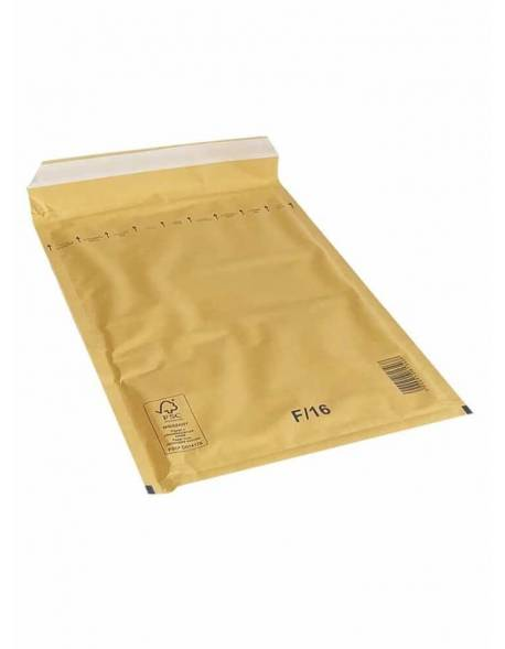 Bubble envelopes / mailers 220 x 340mm F/16 brown