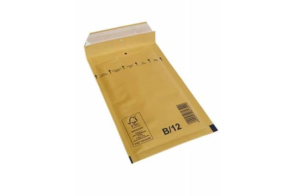 Bubble envelopes / mailers 140 x 225mm inside B/12 200pcs/box Brown