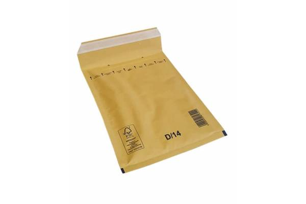 Envelopes with bubble padding 200x275mm D/14 100pcs.