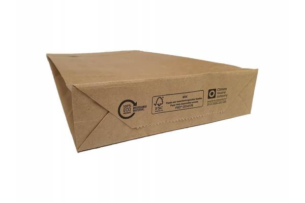 Eco craft paper envelopes 190 x 50 x 300mm 500pcs/box, Brown