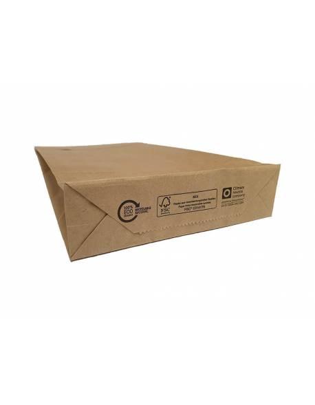 Eco craft paper envelopes 190 x 50 x 300mm 500pcs/box, Brown