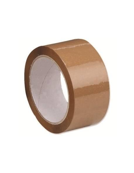 Lipni juosta 826 48mmx54m ruda/brown, solvent kl. C6