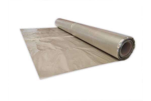 Polietileno plėvelė 3 x 20m, 50MY skaidri antrinė 60m2/ 2,5 kg/rul