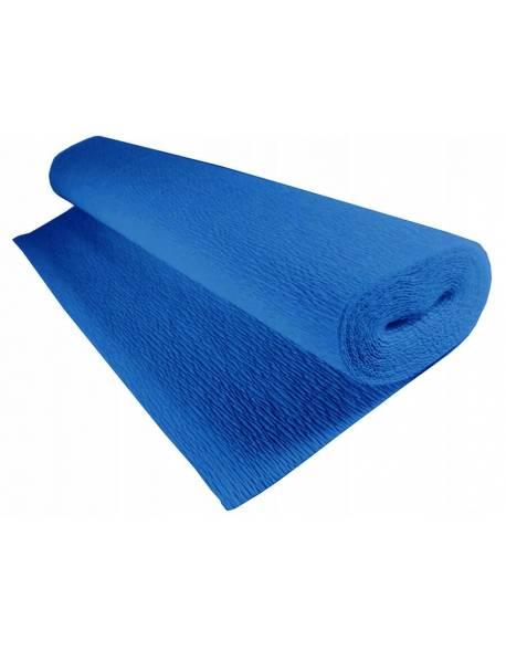 Krepinis popierius 50cm x 2,5m 180g - Mėlynas