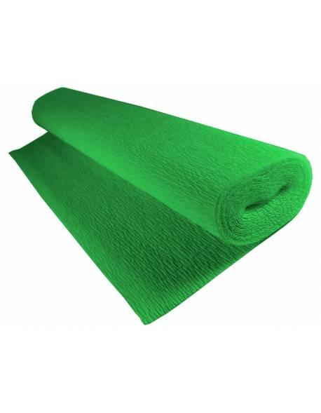 Krepinis popierius 50cm x 2,5m 180g - Žalias