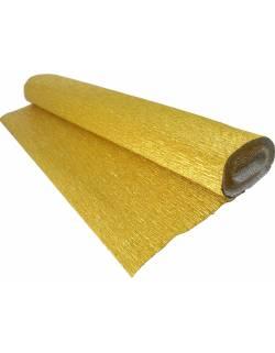Metallized crepe paper 50cm x 2.5m