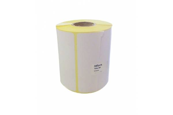 Adhesive labels 98x150mm 350pcs./roll