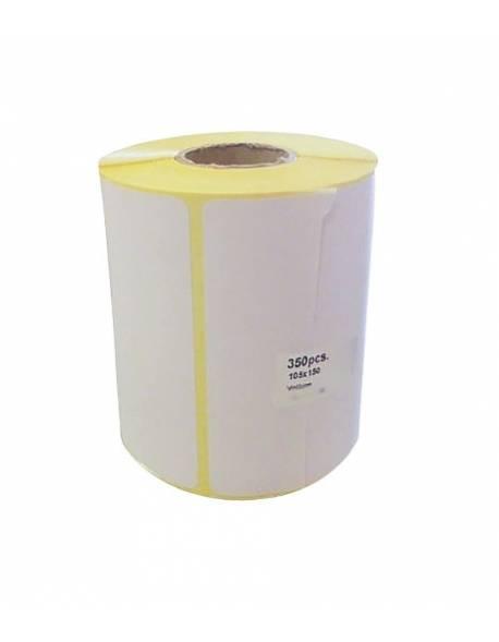 Adhesive labels 98x150mm 350pcs./roll