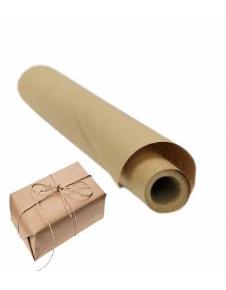 Kraft pakavimo popierius 60cmx10m (50g/m² )