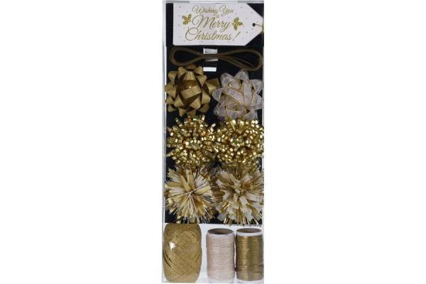 Christmas gift wrapping set 16 pcs.