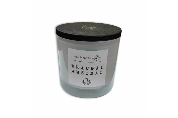 "Scented soy wax candle ""Friends Forever"""
