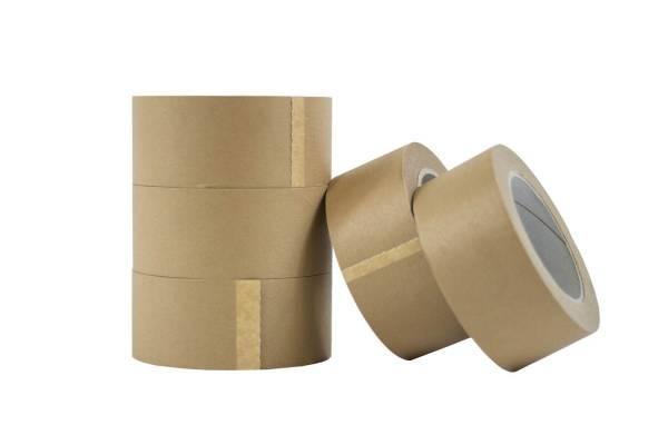 """Popierinė """"Kraft"""" lipni pakavimo juosta 50mm x 50m"""