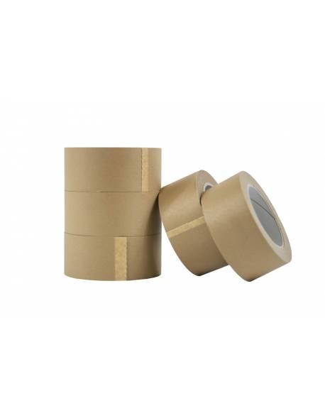Popierinė pakavimo juosta 50mmx50m ruda 210 C6