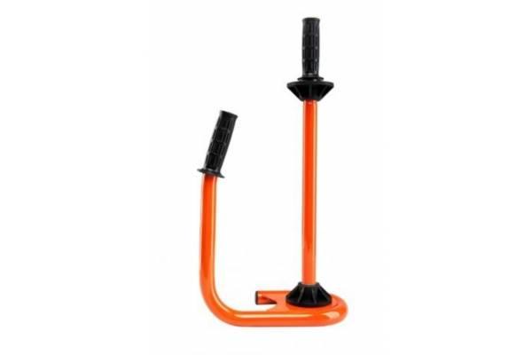 Įrankis stretch plėvelei metalinis oranžinis SR-T