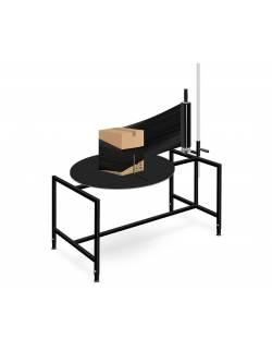 Rotacinis pakavimo stalas (mechaninis) RedSteel