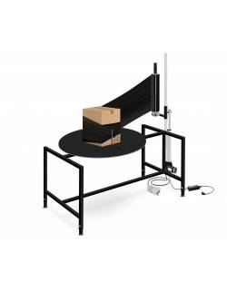 Rotacinis pakavimo stalas (pusiau automatinis)  RedSteel