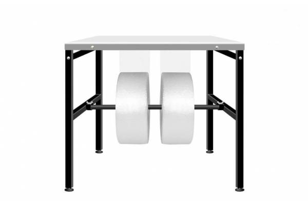 Auxiliary packing table 80x80cm RedSteel
