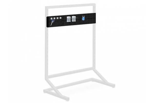 Perforated shelf 80cm RedSteel