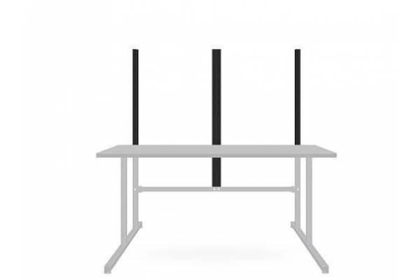 Galinės sienelės stalo rėmas - RedSteel