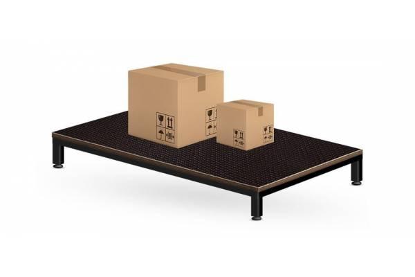 Sandėliavimo platforma supakuotoms siuntoms ir dėžutėms 120x80cm - RedSteel