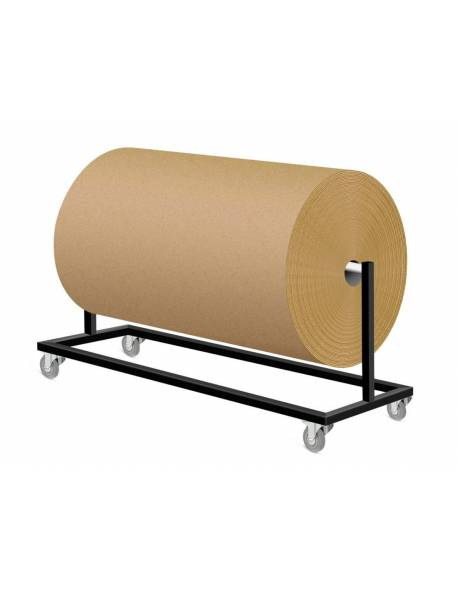 Mobilus kartono/pakavimo plėvelės stovas 140x30x50cm(h) RedSteel