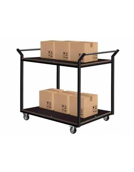 Platforminis užsakymų surinkimo vežimėlis (2-iejų lentynų) 60x90cm