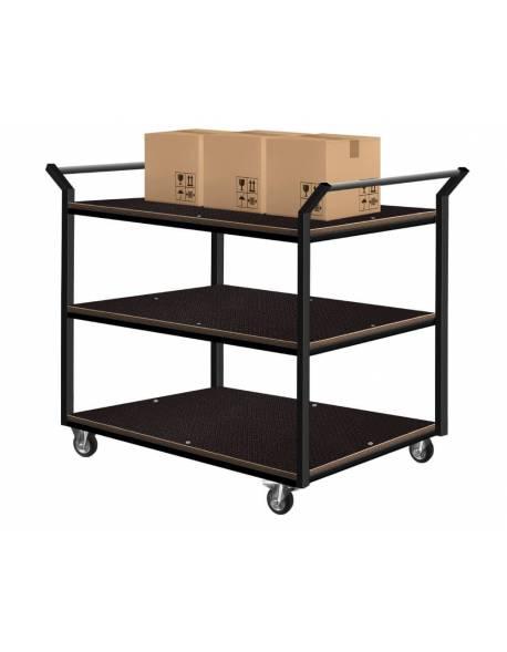 Platforminis vežimėlis (3 lentynos) 60x90cm