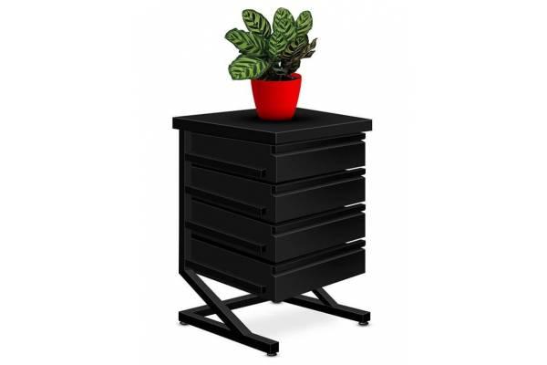 "Steel cabinet ""Slant"" 60x40x40cm RedSteel"