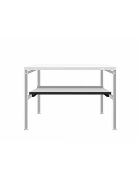 Pagalbinio stalo apatinė lentyna 40x80cm RedSteel